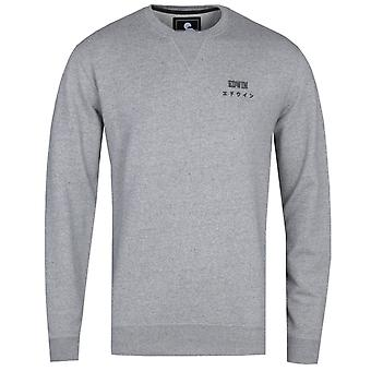 Edwin Base True Grey Crew Neck Sweatshirt