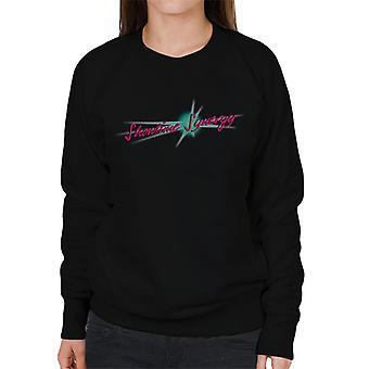 Jem och hologram Showtime Synergy Text Kvinnor & s Sweatshirt