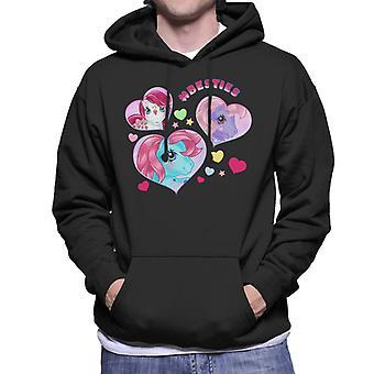 My Little Pony Hashtag Besties Men's Hooded Sweatshirt