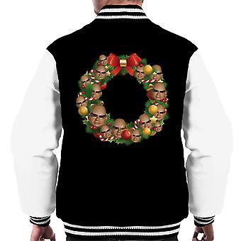 Thunderbirds jul krans multiface The Hood Mænd's Varsity Jacket