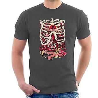Rick og Morty anatomi Park rib Cage mænd ' s T-shirt