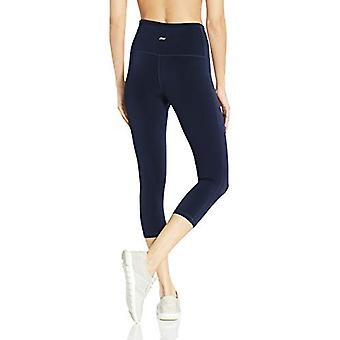Essentials Kvinder's Performance High-Rise Capri Active Legging, Navy, X-Large