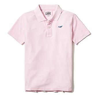 / J. Crew Brand- LOOK par Crewcuts Boy's Short Sleeve Polo, Rose, Small ...