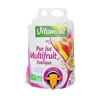 Pure exotic multifruit juice 3 L