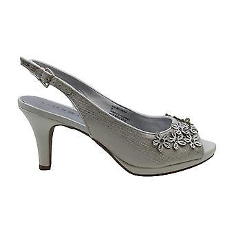 Karen Scott Women-apos;s Shoes Bronaa Peep Toe Special Occasion Mule Sandals