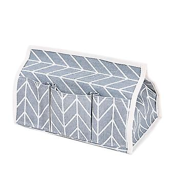 Cotton Tissue Box 25.5x14x17.5cm Gray