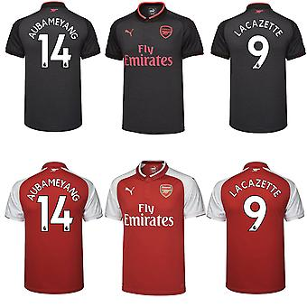 Arsenal FC Official Football Gift Boys Home Third Kit Shirt