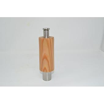 Drevo Gewuerzmuehle OneHand Muehle Larix Pepper Muehle Soľ Muehle korenie Korenie soľ mlyn ručne vyrobené v Rakúsku Darčekový nápad
