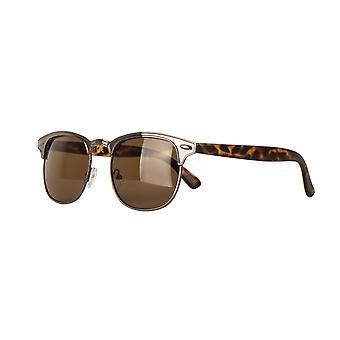Solbriller Unisex Cat.3 mørk brun brun brun (AMM19111 D)