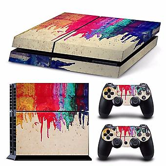 Vinyl Decal Skin Sticker For Playstation Console And Controller