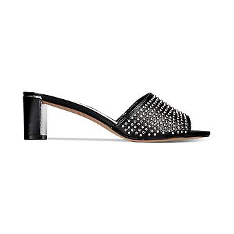Kenneth Cole New York Womens Nash Stud Open Toe Casual Mule Sandals