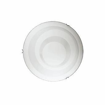 Ideal Lux Dony - 3 Teto Médio Leve Flush Light Branco, E27