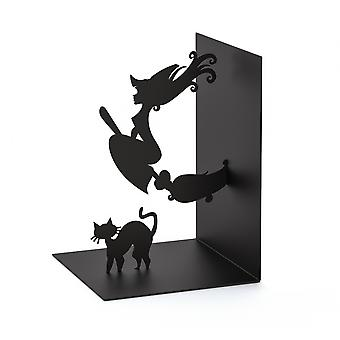 Bookend Magic 17 cm Metall schwarz