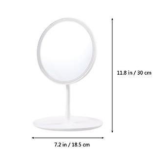 Cosmetic Mirror With 16 Leds Touch Dimmer Switch - Battery Operated