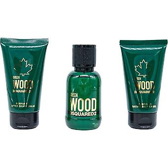 Dsquared2 D2 Green Wood x20 EDT 50ml Set