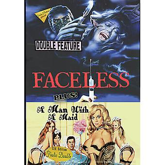 Faceless / Man With A Maid [DVD] USA import