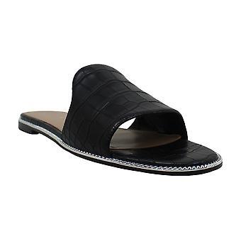BCBGeneration Womens zahara Open Toe Casual Slide Sandals