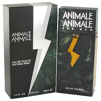 Animale Animale Eau De Toilette Spray By Animale 3.4 oz Eau De Toilette Spray