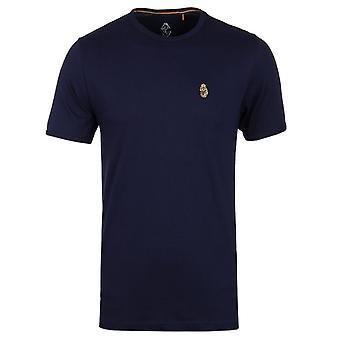 Luke 1977 Trousersnake Crew Neck T-Shirt - Navy