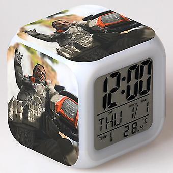 الملونة متعددة الوظائف LED الأطفال & apos;ق منبه ساعة -Apex أساطير #44