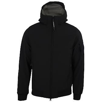 C.p. company men's black shell jacket
