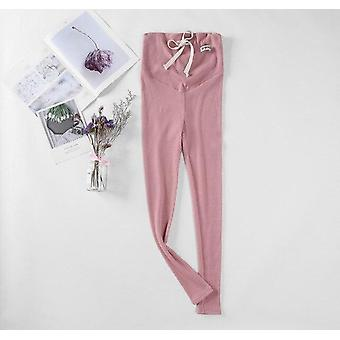 Pregnant Women Autumn Pregnancy Pencil Pants, Maternity Elastic Waist Belly