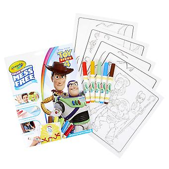 Crayola coloring pad & markr story4, toy story 4, one size