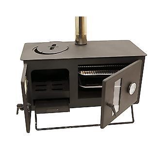 Outbacker® firebox pro eco burn range ovenfornuis