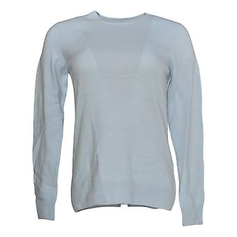 Soft by NAADAM Women's Sweater (XXS) 100% Cashmere Blue A370916