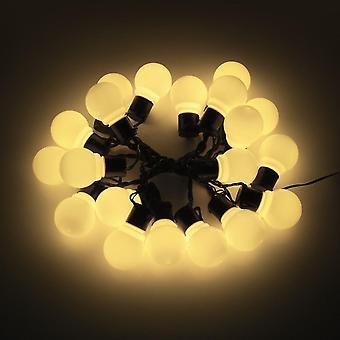 Lampada alimentata a pannello solare a Led 10/20 Globe Bulbs Ball String Holiday Lighting