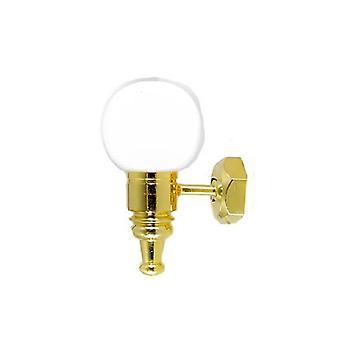 Dolls House Wall Light White Globe Shade 12v Lamp Miniatuur elektrische verlichting