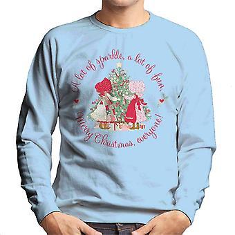 Holly Hobbie JulGnisle och roliga män's Sweatshirt