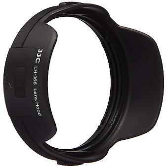 Jjc 12-40 mm lh-j66 lens hood for olympus m. zuiko digital camera