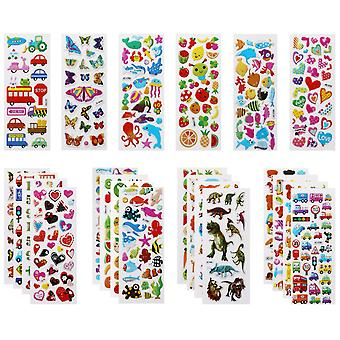 Vicloon 3d stickers for kids puffy stickers 500+ children stickers 22 variety sheets for rewarding g
