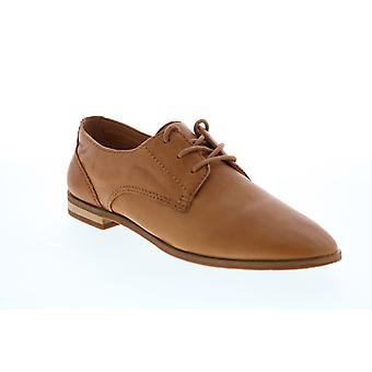 Frye & Co. Piper Oxford  Womens Brown Leather Oxfords Flats Shoes