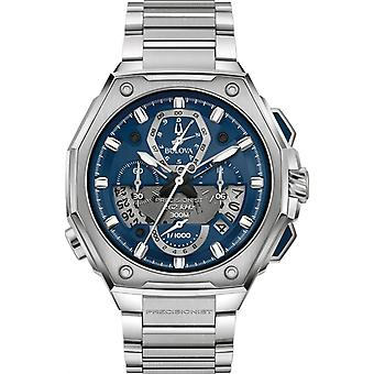Bulova Precisionist Chronograph Mens Watch 96B349