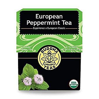 Buddha Organic European Peppermint Herbal Tea