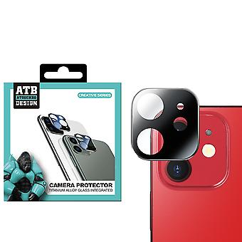 iPhone 12 Zwart Camera - Screenprotector Lens ATB