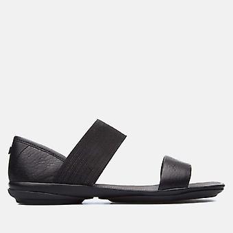 Høyre nina 21735 008 svart - bobil kvinner's ballerina sko