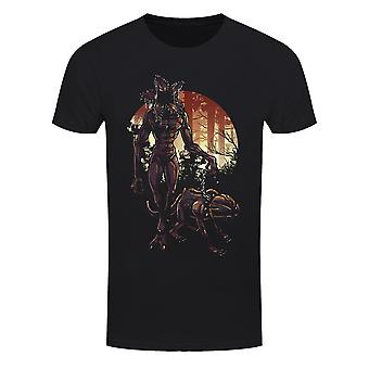Grindstore Mens Demo-Dog Walkies T-Shirt