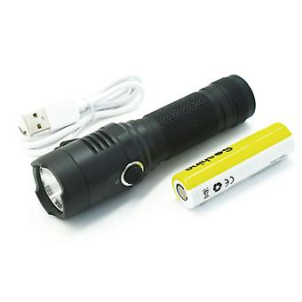 Soshine TC18 1100lm Flashlight 4 Modes USB Rechargeable Work Lamp Hunting Camping Emergency Lantern