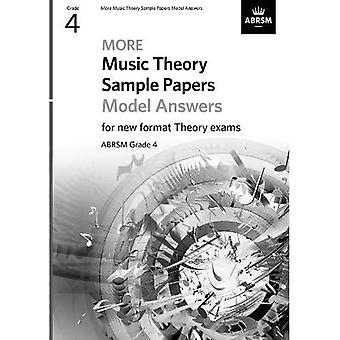More Music Theory Model Answers Grade 4