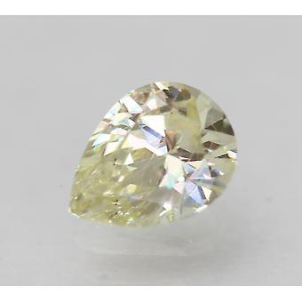 Sertifioitu 0,52 karat K VVS2 päärynä Enhanced Natural Loose Diamond 6.21x4.71mm 2VG