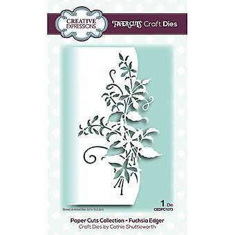 Creative Expressions Paper Cuts Collectie Cutting Dies - Fuchsia Edger