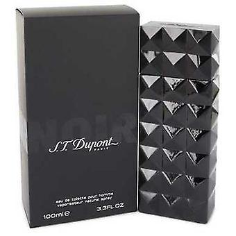 St Dupont Noir By St Dupont Eau De Toilette Spray 3.3 Oz (men) V728-465216