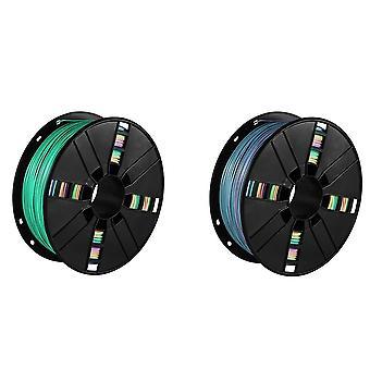 Pla Filament Rainbow Color Filament Pla Spool 2.2 Lb 1kg Roll 3d Printer Parts