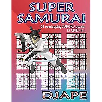 Super Samurai Sudoku: 64 overlapping puzzles, 13 grids in 1!