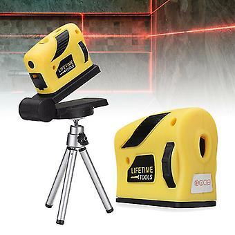 4 In 1 accurate multipurpose laser level lever horizontal vertical  light beam measure tape  360 degree automatic laser level