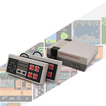Mini Tv-pelikonsolilaatikko, Retro Duo -pelin kädessä pidettävä soitin Av output videopeli