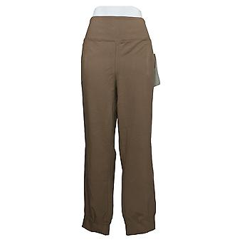 Women with Control Leggings Regular Tummy Control Jogger Brown A389478